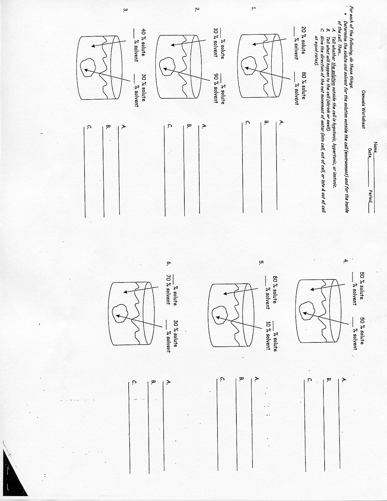 worksheet Tonicity And Osmosis Worksheet ticritostact worksheet and osmosis download biology diffusion at marks web of